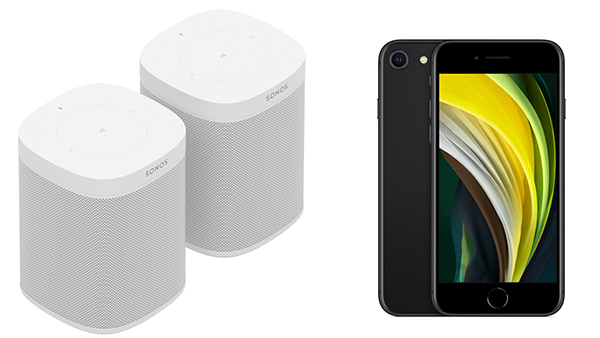 Aktion Iphone oder Sonos One Vattenfall