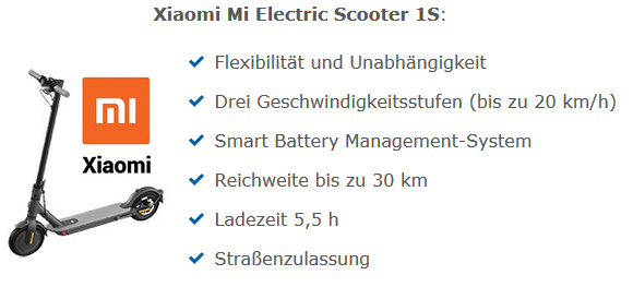 Prämie stadtenergie E-scooter
